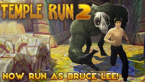 Bruce Lee, Temple Run 2'ye Geldi
