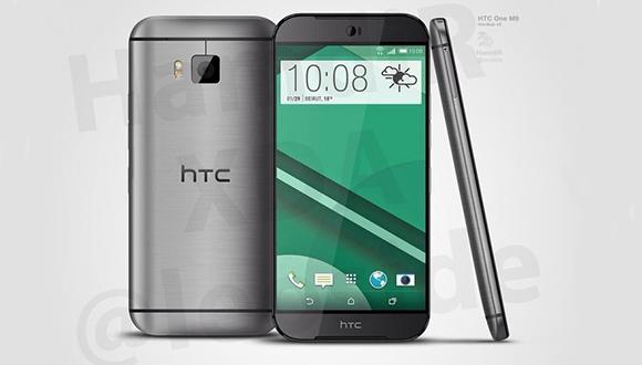 HTC One M9'un Teknik Özellikleri Belli Oldu