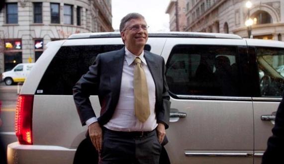 Bill Gates'in Çin Temasları
