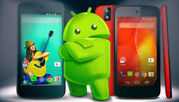 Android One Lollipop 5.1 ile Geliyor