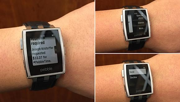 Pebble Android Wear'e Hazır