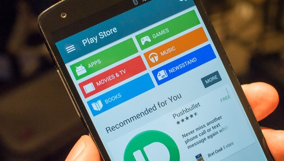 Play Store'un Görünümü Değişiyor