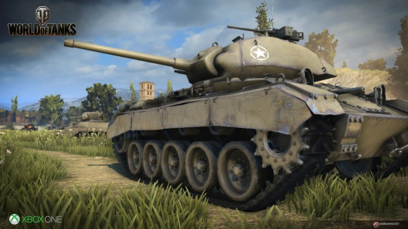 World of Tanks, Xbox One'a Geliyor