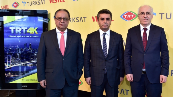 TRT 4K Ultra HD Yayına Geçiyor