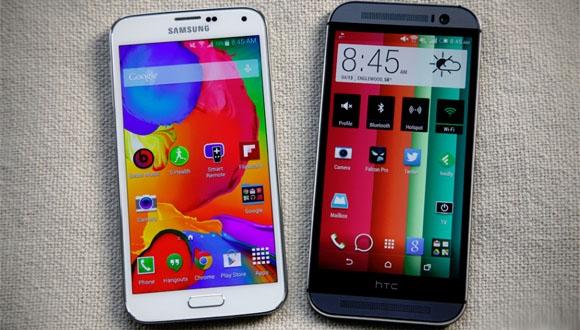 HTC One M9 ile Samsung Galaxy S6 Karşı Karşıya