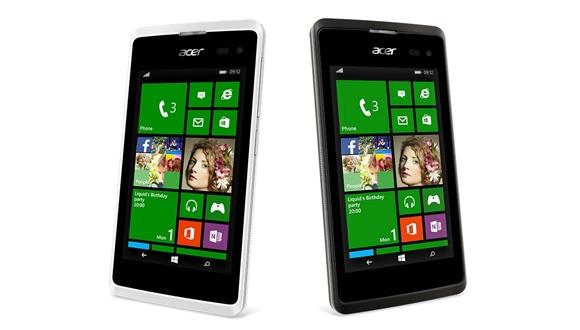 Acer'dan Windows Phone'lu Telefon: Liquid M220