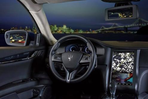 Qualcomm ve Maserati'nin Akıllı Arabası!