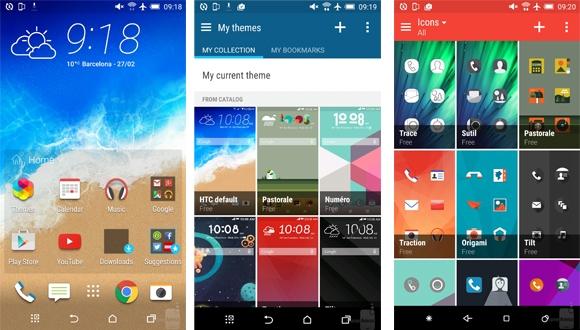 HTC'nin Yeni Arayüzü Sense 7