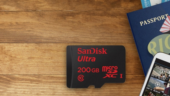SanDisk'in 200 GB'lık SD Kartı Elimizde