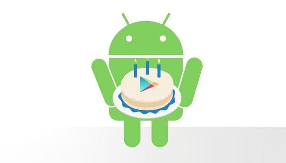 Google Play Store, 3 Yaşında!