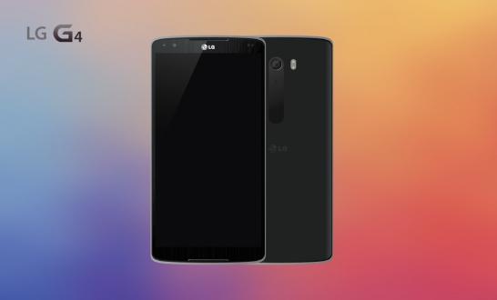 LG G4 Parmak İzi Okuyucusu İle Gelecek