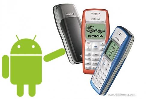 Nokia 1100, Android 5.0 ile Göründü