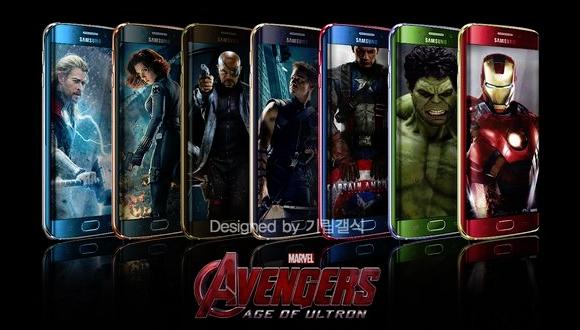 Galaxy S6'yı Avengers için Tasarladı