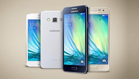 Samsung Galaxy A3 Kutusundan Çıkıyor