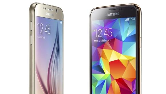 Galaxy S5 ile Galaxy S6 Karşı Karşıya