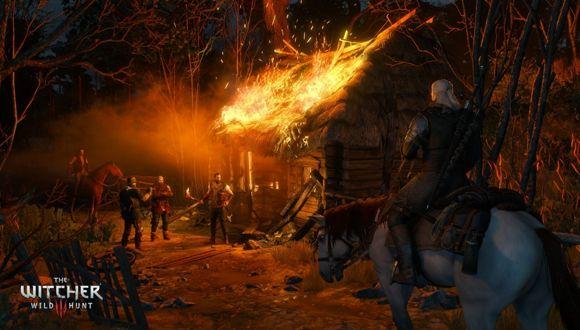 The Witcher 3'ten 4K Ekran Görüntüsü