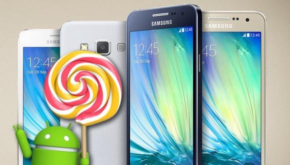 Galaxy A Serisi, Android 5.1 Almayabilir!