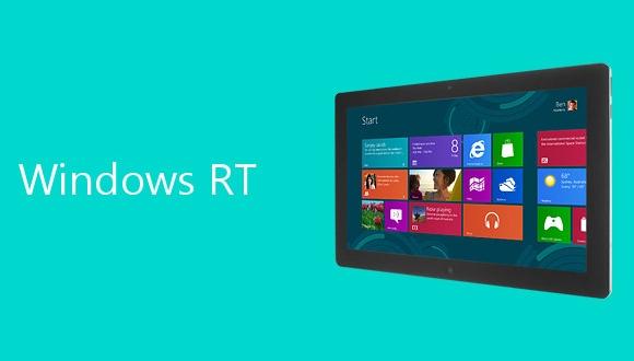 Windows RT İçin Yolu Sonuna Gelindi