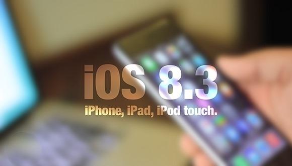iOS 8.3 Beta 4 Yayınlandı