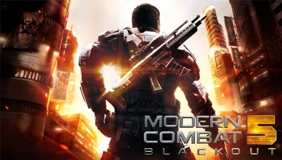 Modern Combat 5, Android'de de Ücretsiz!