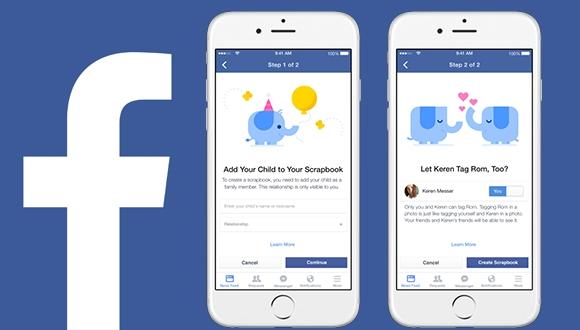 Facebook'tan Yeni Çocuk Etiketleme Özelliği