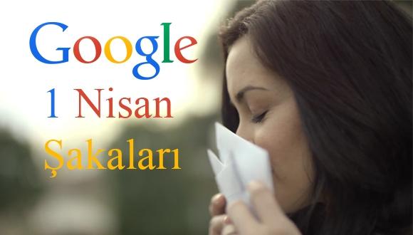 Google'dan 1 Nisan Şakaları
