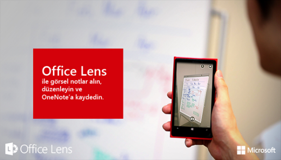 Microsoft Office Lens iOS'e Geldi!