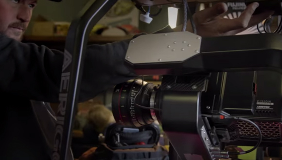 4K Kamerayı Uçurdular!