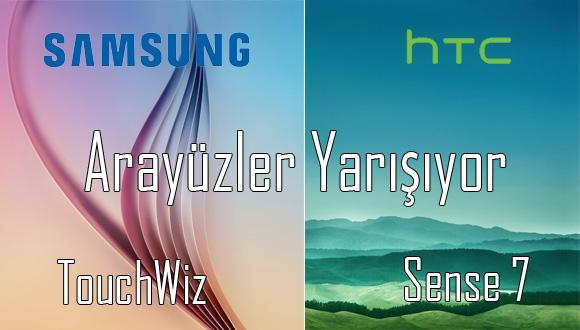 Galaxy S6 ve One M9'un Arayüzü Karşı Karşıya