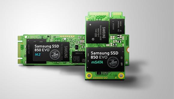 Samsung Yeni SSD'lerini Tanıttı