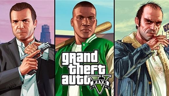 GTA V Yılın En Çok Konuşulan Oyunu Oldu