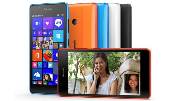 Microsoft Lumia 540 Duyuruldu