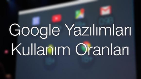 Google Yazılımlarını Kaç Kişi Kullanıyor?