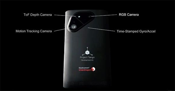 Google ve Qualcomm'dan Project Tango Telefon