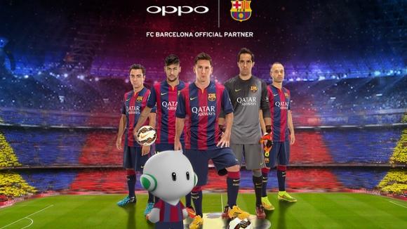 Barcelona ile Oppo Anlaştı!