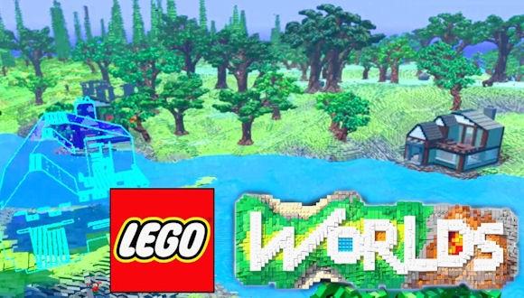 Minecraft'a Yeni Rakip; Lego Worlds