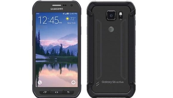 Samsung Galaxy S6 Active Göründü