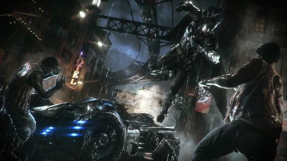 Batman Arkham Knight'tan Oynanış Videosu