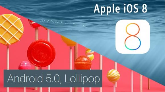 iOS 8 Lollipop'u Geride Bıraktı