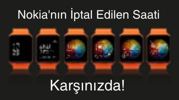 İşte Nokia'nın İptal Edilen Akıllı Saati