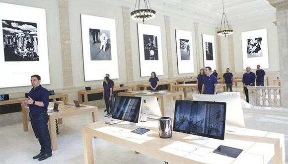 100 Yıllık Apple Store Açıldı