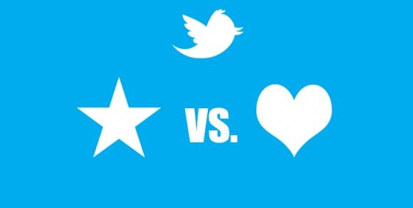 Twitter Favori İkonu Değişiyor