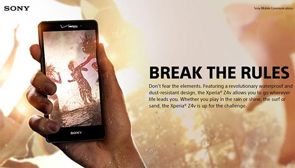 Quad HD Ekranlı Xperia Z4v Duyuruldu