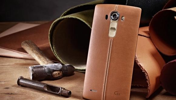 LG, G4 Alanlara Deri Kapak Hediye Ediyor!