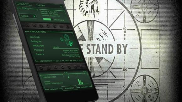 Android Telefonları Pipboy'a Çevirin