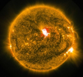Güneş Yüzeyindeki Patlama, GPS'i Etkileyebilir