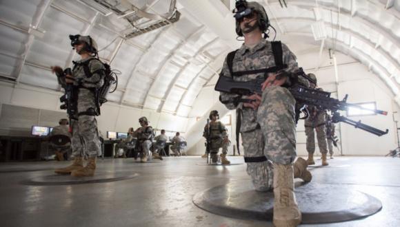 ABD Ordusu'da Sanal Gerçeklik Eğitimi
