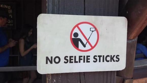 Selfie Çubuğu Yasaklandı!