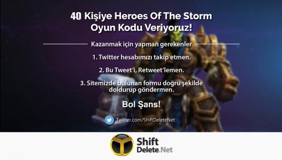 40 Kişiye Heroes of the Storm Oyun Kodu Veriyoruz