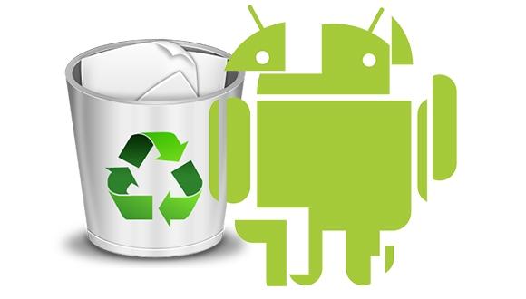 Android'de Yüklü Uygulamaları Kaldırın